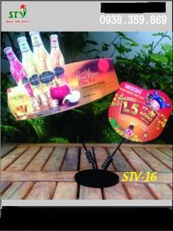 wobbler đế nhựa, đế nhựa quảng cáo, chân nhựa quảng cáo, sản xuất đế nhựa nhiều màu sắc