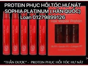 Protein Phục Hồi Tóc Hư Nát Sohia Platin