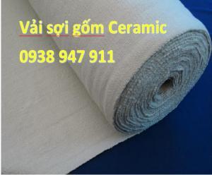 Vải chịu nhiệt độ cao nhất - Vải gốm - vải gốm ceramic - Vải Ceramic