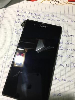 Xác điện thoại Sony Z đen , Sony M4 trắng