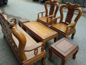 Bộ quốc đào tay 10 gỗ nghiến