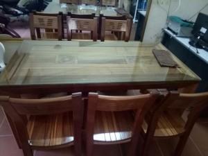 Bộ Bàn Ghế  bàn ăn 6 ghế
