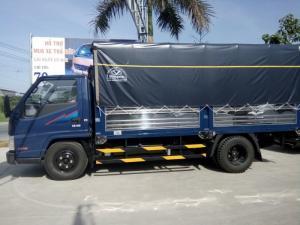 Gía xe tải dothanh iz49 thùng kèo mui bạt 2300kg tại cần thơ