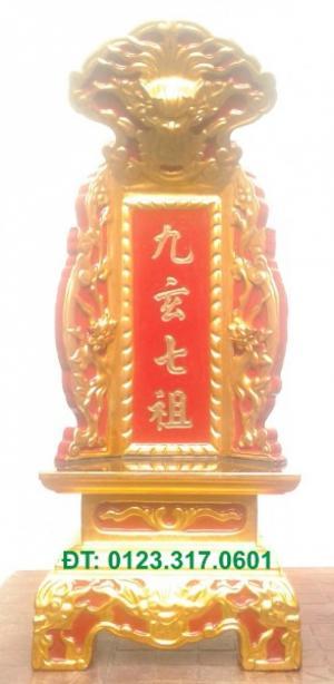 Bài vị thờ ở chùa, bài vị thờ gia tiên, bài vị gỗ