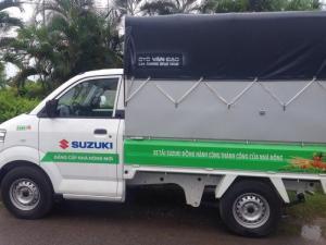 Bán Suzuki 7 tạ, thùng siêu dài, giá 305tr, có xe giao ngay
