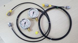 Bộ test áp thủy lực Stauff - Đồng hồ áp suất
