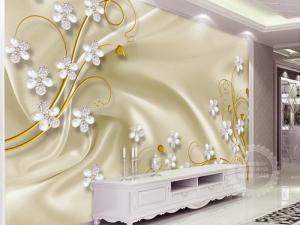 Gạch tranh 3D trang trí phòng ngủ Kích thước: 120x180cm Nhận làm theo kích thước yêu cầu