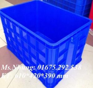 Các sản phẩm thùng nhựa