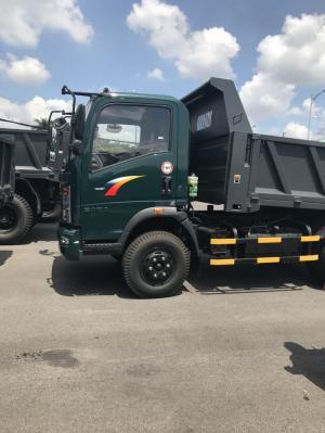Xe tải ben Hyundai 2,4 tấn, xe chạy được trong nội thành