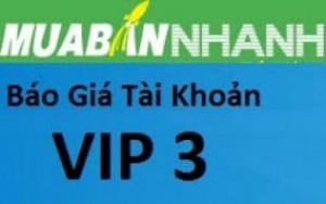 VIP 3 - Tăng doanh số nhanh hơn trên Mua Bán Nhanh
