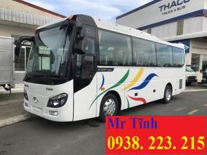 Xe 29 chỗ bầu hơi thaco town tb82 mẫu mới...