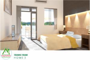 Thiết kế nhà giá rẻ quận Bình Tân - Công trình nhà ở TrangTran Home 3