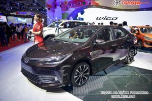 Khuyến Mãi Toyota Altis 2018 1.8 Màu Nâu Cho Khách Đặt Hàng