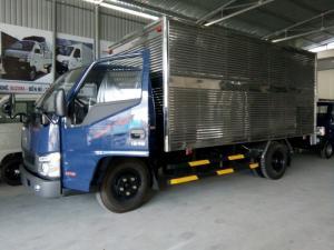 Gía xe tải DOTHANH 2 tấn 3. Động cơ ISUZU thùng dài 4120m BẢO HÀNH 3 năm