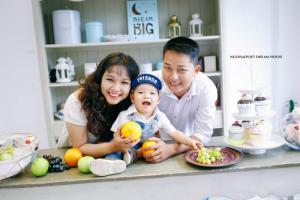Studio photo chuyên chụp ảnh cho bé và gia đình tại Nhà Bè