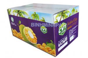 in thùng carton đựng trái cây - mít xuất khẩu