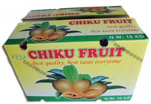 in thùng carton đựng trái cây - Chiku fruit xuất khẩu