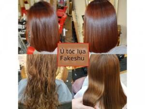 Hấp lụa tơ tằm Fakeshu siêu mượt tóc