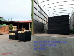 Ván cốp pha phủ phim 12mm 15mm 18mm dùng trong xây dựng