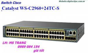 WS-C2960+24TC-S giá tốt CO/CQ đầy đủ