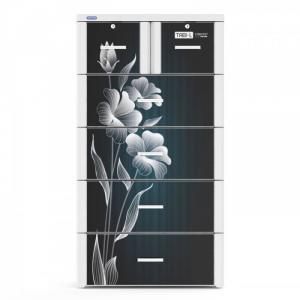 Tủ nhựa TABI size L màu đen tuyền DT chất lượng cao Phú Hòa An