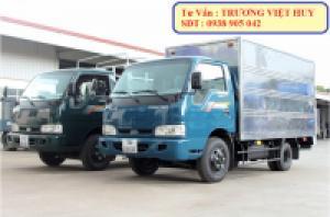 Hình ảnh về xe tải 2,4 tấn - kia thaco k165s