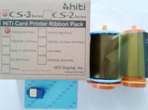 Ruy băng màu máy in thẻ nhựa HiTi CS310