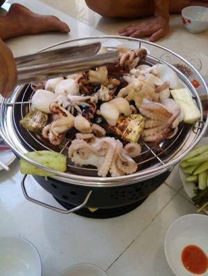 Bếp nướng không khói Việt Nam BN300, bếp nướng nhà hàng chất lượng cao