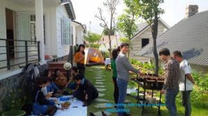 Bếp nướng khung thép, bếp nướng sân vườn Acter tree CK350 xuất Đức