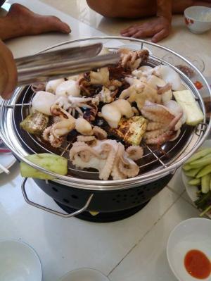 Bếp nướng than hoa, bếp nướng dã ngoại BN300