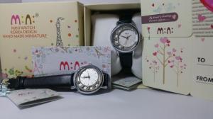 Đồng hồ 3 D handmade Mini 2055 Black