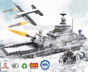 Bộ lắp ráp cogo Quân đội hàng không mẫu hạm 8in1