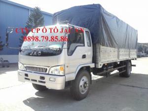 Xe tải JAC 8T giá tốt, thùng dài 7m3