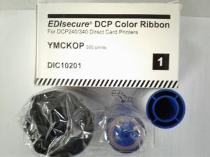 Ruy băng màu máy in thẻ nhựa EDISecure - DCP 240 (DIC 10201)