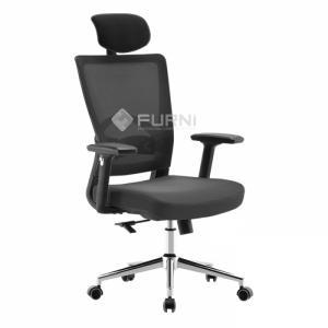 Ghế văn phòng chân xoay lưng cao nhập khẩu cao cấp CM6205-M1