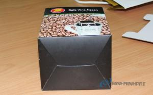 In hộp giấy cà phê, bao bì đựng Cà Phê