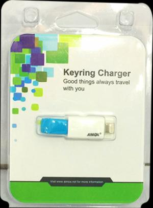 Cáp Usb Cho Iphone. Keyring Charger