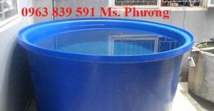 Cần bán thùng nhựa tròn 200L-350L-500L giá sĩ