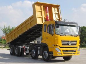 Xe ben Dongfeng 4 chân (8x4) nhập khẩu nguyên chiếc