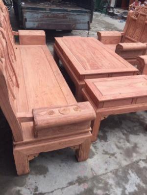 Bàn ghế Âu Á,loại Gỗ Hương Đá, gồm 6 món kiểu...