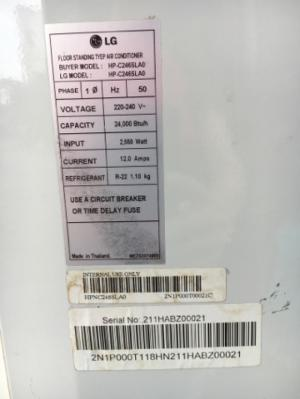 Máy lạnh tủ đứng 3hp và 5hp tại tphcm