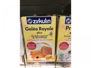 Sữa ong chúa Zirkulin, chất lượng cao của Đức