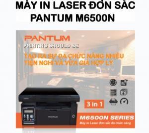 Máy in laser đơn sắc Pantum đa chức năng  M6500N