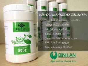 Mầm Đậu Nành Nguyên Xơ Linh Spa_ 100% Natural
