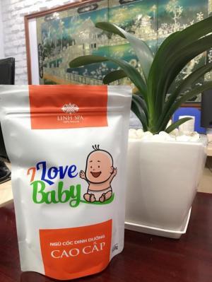 Ngũ Cốc I LOVE BABY Tách Dầu_ Bổ Xung OMEGA 3