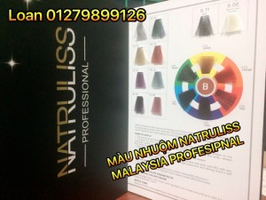 Thuốc Nhuộm Tóc Thời Trang Natruliss Professional Malaysia