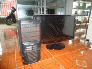 Bộ máy tính bàn khủng core I7 và màn hình sam sung 27in full HD