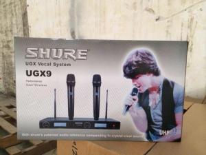 Bán micro không dây karaoke shure ugx9
