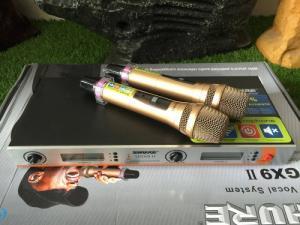 Micro karaoke không dây SHURE UGX9-II