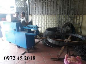 Máy nắn và cắt sắt tự động hàng Việt Nam sản xuất tại Thủ Đô